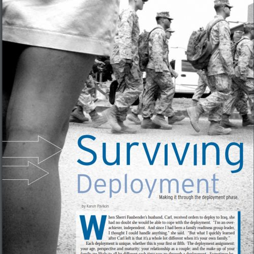 Military Spouse magazine Deployment Series part 2 by Karen Pavlicin